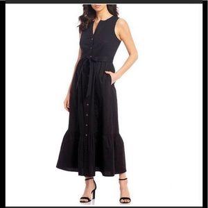 Calvin Klein maxi oversize shirt dress